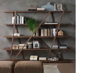 PACINI & CAPPELLINI -  - Open Bookcase