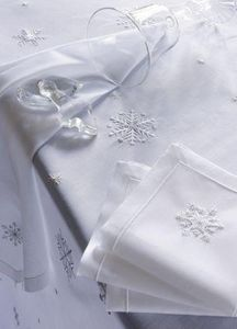 Noel - cristaux - Square Tablecloth