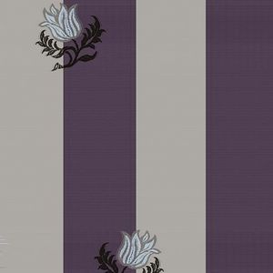 Gainsborough - taupe purple - Upholstery Fabric