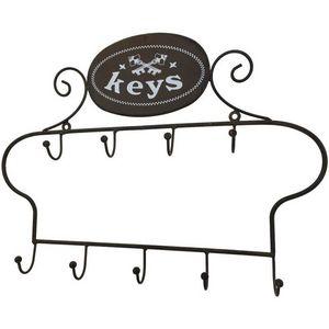 CHEMIN DE CAMPAGNE - porte-clef clé clés clefs mural en fer 40 cm - Key Cupboard