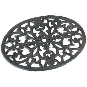 CHEMIN DE CAMPAGNE - dessous de plat repose plat en fonte 23,5 cm - Plate Coaster