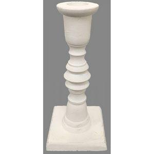 CHEMIN DE CAMPAGNE - lot de 2 grands bougeoirs chandeliers de table en  - Candlestick