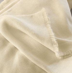 Quagliotti - arles lino - Quilted Blanket