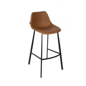Mathi Design - chaise de bar marron - Bar Chair