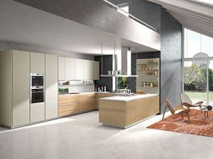 Snaidero - orange_ - Modern Kitchen