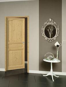 Pre-hung flat inside door set