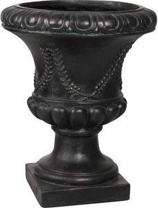 Aubry-Gaspard - vase antique en fibre de verre noir taille 4 - Medicis Vase