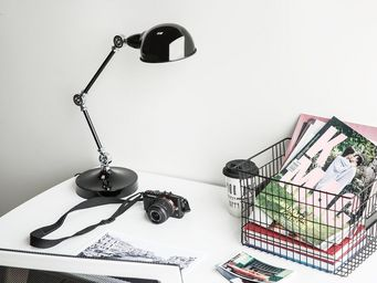 BELIANI - lampe à poser - Desk Lamp
