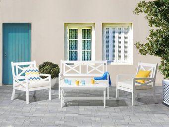 BELIANI - salon de jardin - Garden Furniture Set
