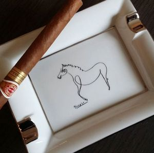 MARC DE LADOUCETTE PARIS - cheval - Cigar Ashtray