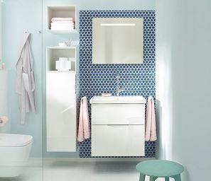 BURGBAD - --equio - Bathroom Single Storage Cabinet
