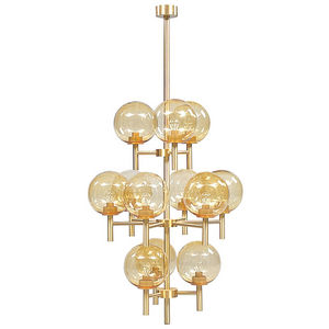 ALAN MIZRAHI LIGHTING - qz7836 kristiansson - Multi Light Pendant