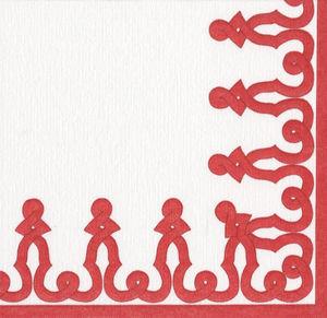 CASPARI -  - Paper Christmas Napkin