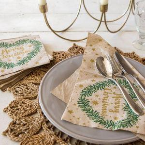 Graham & Green -  - Paper Christmas Napkin