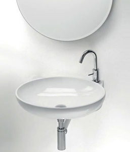 CasaLux Home Design - thin ovale - Wall Mounted Washbasin