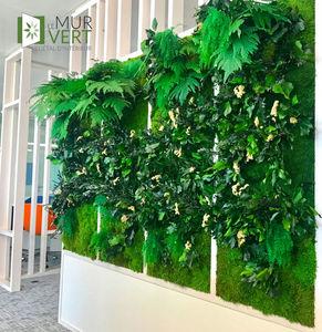 LE MUR VERT - végétal stabilisé - Grass Covered Wall