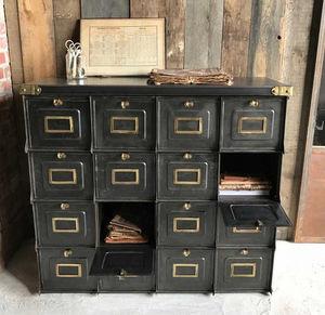 L'OR DU TEMPS - meuble à clapets - Drop Door Storage Cabinet