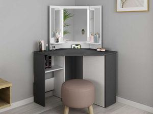 Vente-Unique.com - coiffeuse charlene - Dressing Table