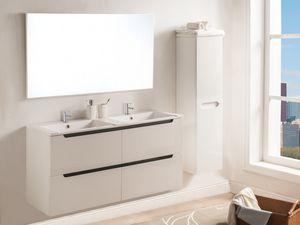 WHITE LABEL - ensemble double vasque selita - Double Basin Unit