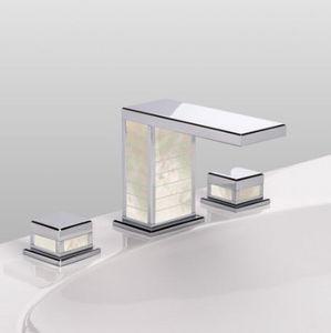 Serdaneli International - square luxe - Three Hole Basin Mixer