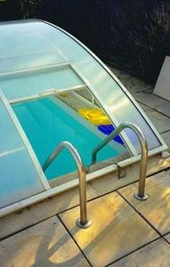 Abri-Integral - amovible evolution - Pool Ladder