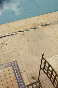 Occitanie Pierres - auberoche ocre - Pool Border Tile