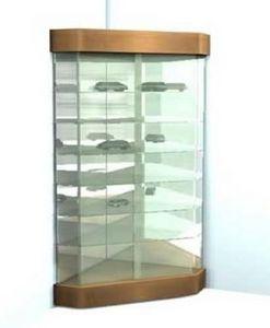 Vitrinexpo27 - maxi arc en ciel - Corner Display Cabinet