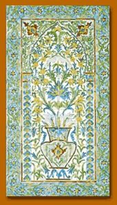 Helene Padiou - azulejos - Decorative Panel