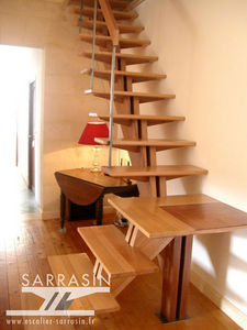 Escalier Sarrasin -  - Straight Staircase