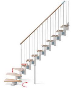 Safety Stairways -  - Quarter Turn Staircase