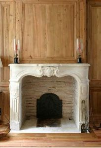 Materiaux Anciens Labrouche Fils - regence - Fireplace Mantel