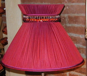 SYBLES CREATIONS - abat jour couture - Lampshade