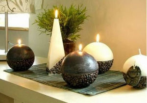 Kerzen Planet -  - Round Candle