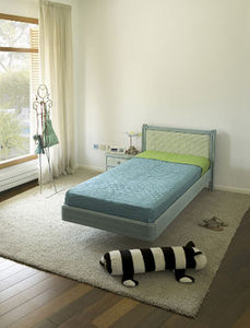 RATTAN DECO -  - Single Canopy Bed
