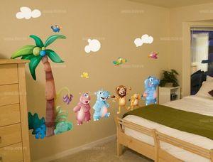 IDzif - sticker sur le thème de la jungle - Children's Wall Decoration