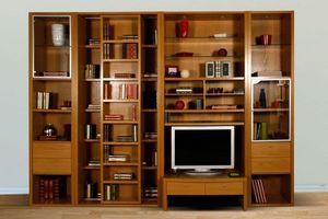 La Maison Des Bibliotheques - gamme balzac - Sliding Door Bookcase