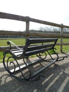 Decorative Collective -  - Garden Bench
