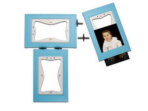 KERPIX - lot de 3 cadres bleu - Children's Photograph Frame