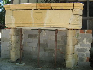 Catherine Fleuraux Materiaux Anciens -  - Fireplace Insert