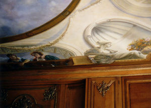 NICOLE BRUN -  - Ceiling Fresco
