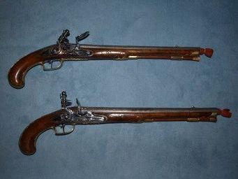 Patrice Reboul - pistolet à silex - Pistol And Revolver