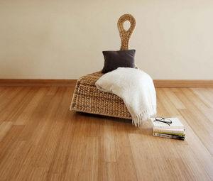 BAMBOOTOUCH - vertical caramel vernis - Wooden Floor