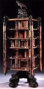 Aveline -  - Revolving Bookcase