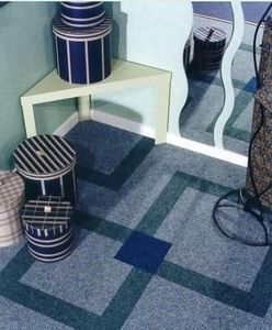 Needle-punched carpet
