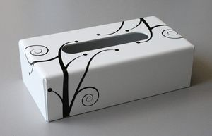 Decorations-Design -  - Tissues Box Cover