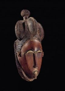 Galerie Sigui - masque portrait - African Mask