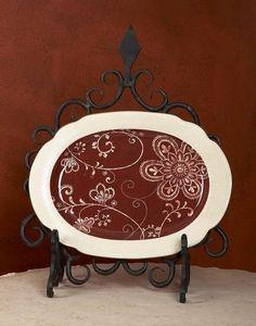 Bella Toscana -  - Plate Stand