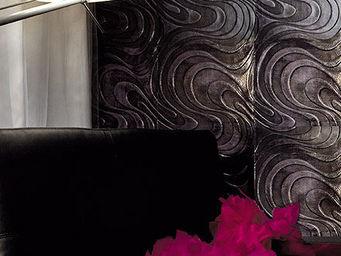 Christophe Fey Concept - cuir imprime motif «pop» - Leather Tile