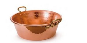 Copper jam pan