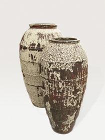 DESIGNER PLANTERS - mystic ocean ceramic  - Jar